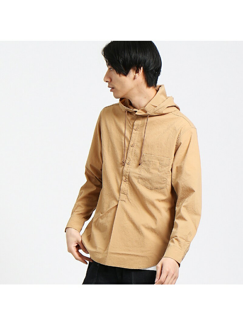 ABAHOUSE 【AT-SCELTA/原宿店限定】パーカーシャツ アバハウス【送料無料】