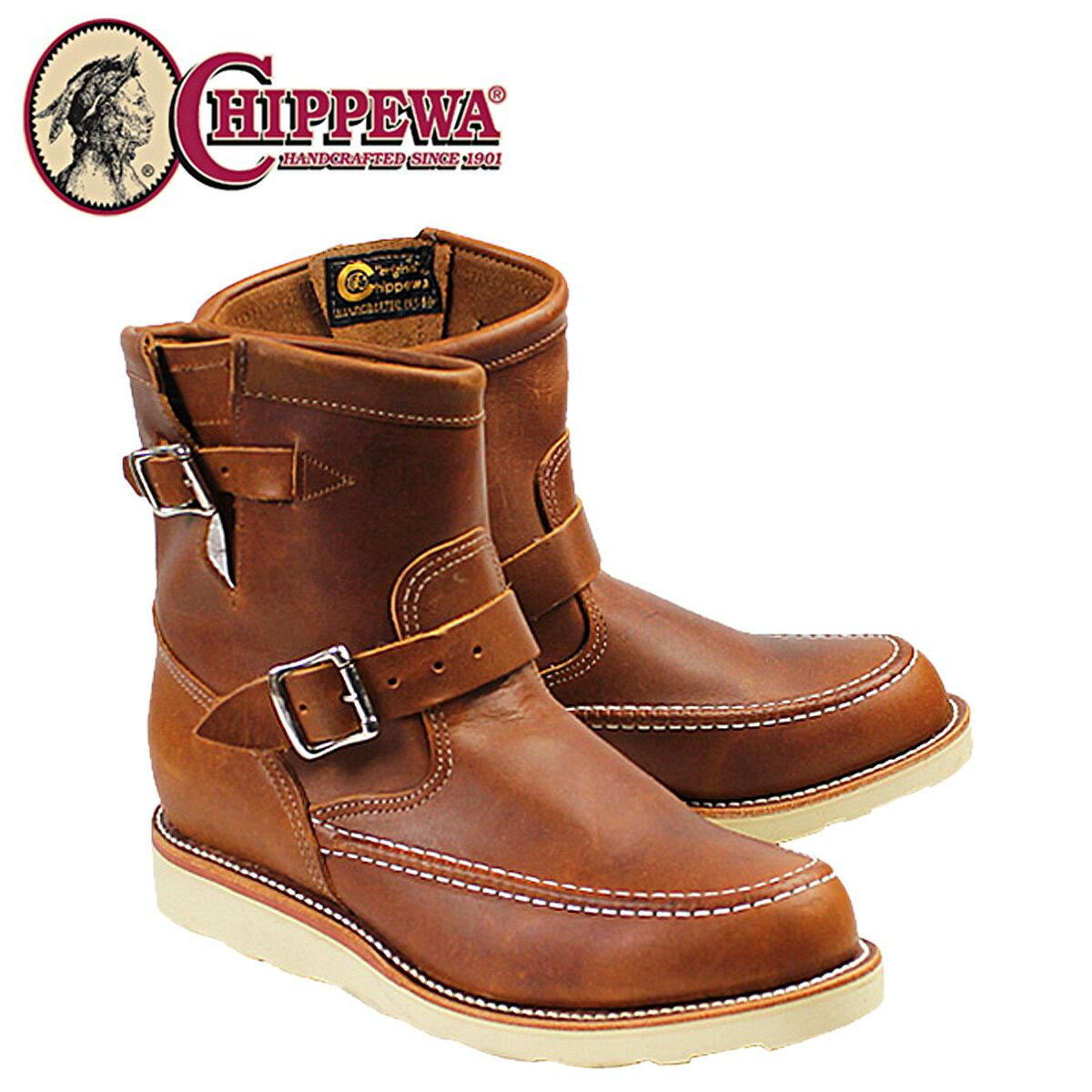 CHIPPEWA チペワ 7INCH RENEGADE HIGHLANDER ブーツ 7インチ レネゲード ハイランダー 1901M08 Eワイズ タン メンズ [12/15 再入荷]