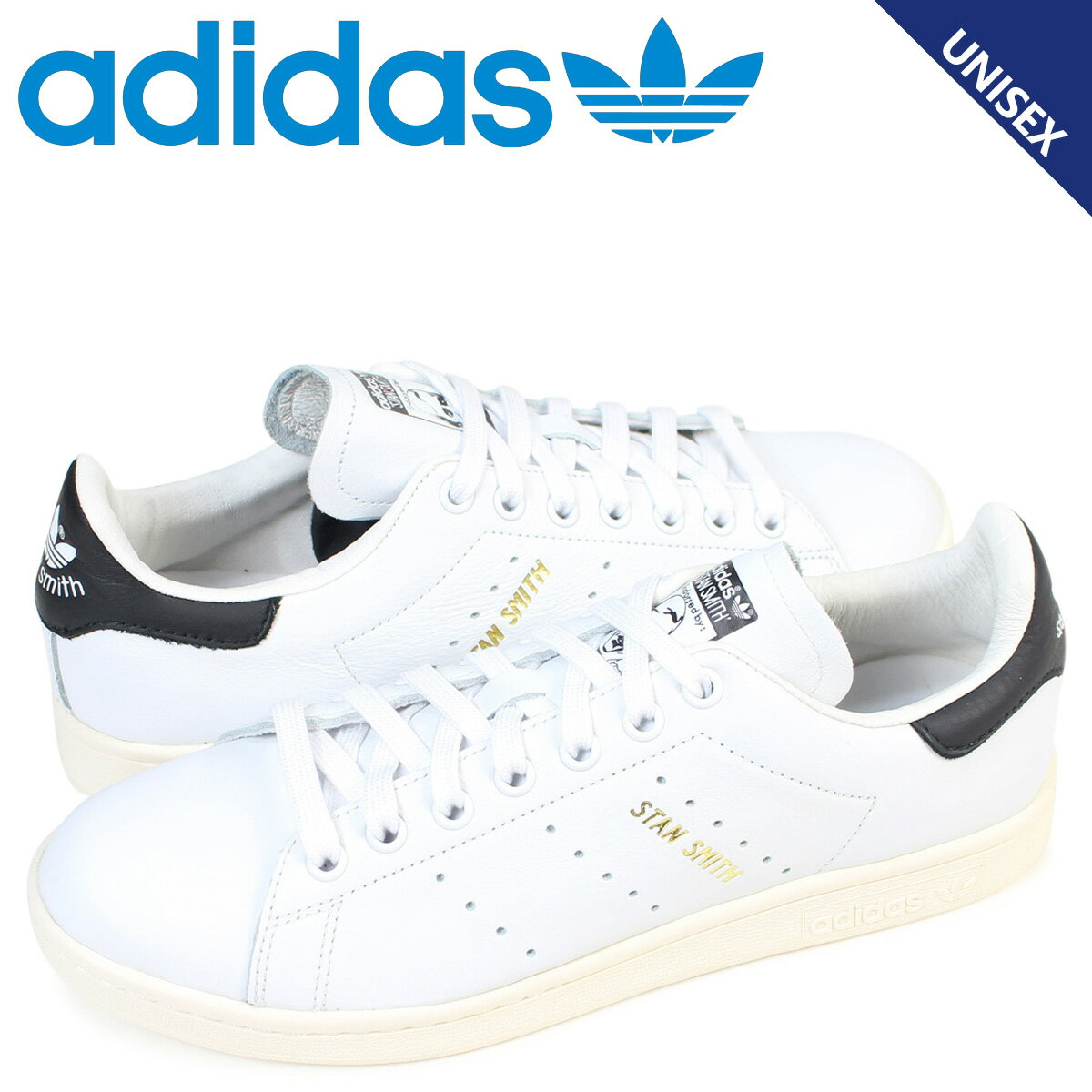 adidas Originals アディダス スタンスミス スニーカー STAN SMITH メンズ レディース S75076 靴 ホワイト
