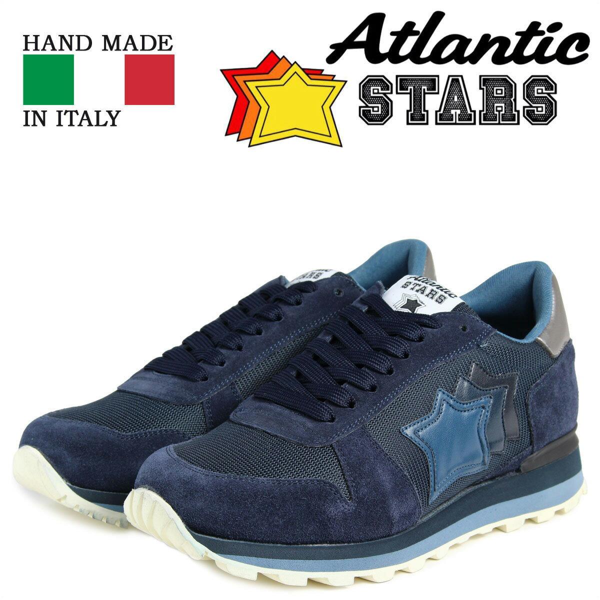 Atlantic STARS メンズ スニーカー アトランティックスターズ シリウス SIRIUS MAN-PR-LABN 靴 ネイビー [10/19 新入荷]