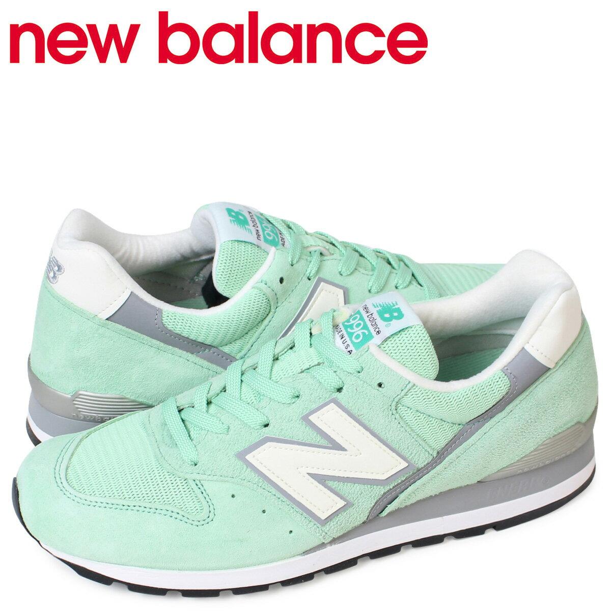 new balance 996 メンズ ニューバランス スニーカー M996CPS Dワイズ MADE IN USA 靴 ターコイズ