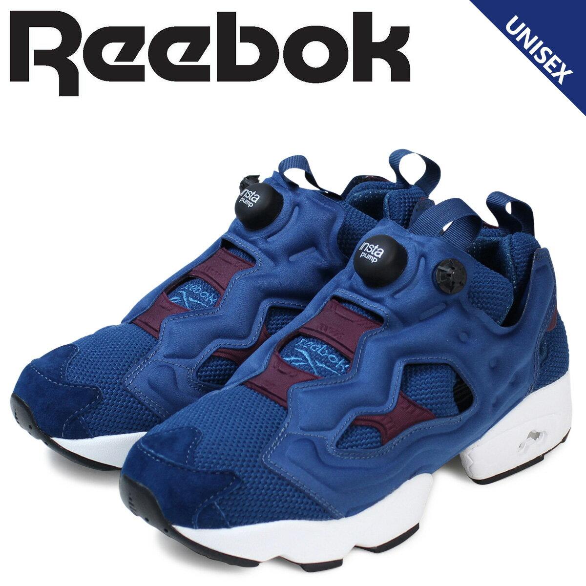 Reebok リーボック ポンプフューリー スニーカー INSTAPUMP FURY HK AR2533 メンズ レディース 靴 ブルー