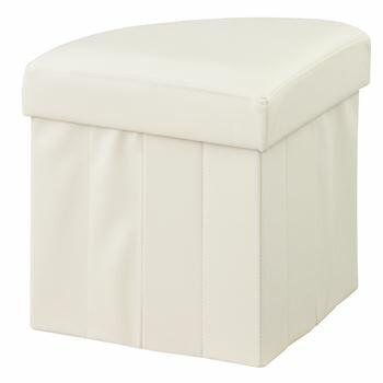【6個セット】 ボックス 収納スツール 扇形 北欧 インテリア おすすめ 家具 東谷 AZUMAYA お得なセット買い