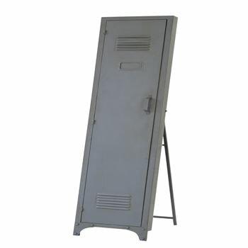 ロッカーミラー 鏡 W30×D38×H148cm 北欧 インテリア おすすめ 家具 東谷 AZUMAYA