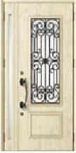 防火戸 FG-E ジエスタ C11型 親子入隅:採光部あり FGシリーズ 断熱玄関ドア リクシル
