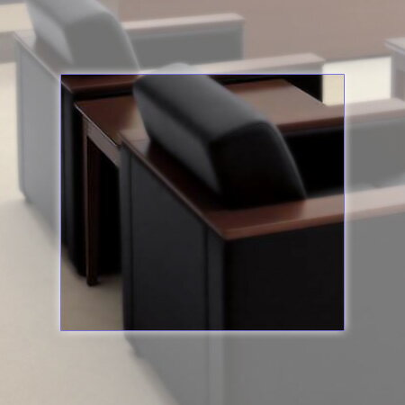 NAIKI (ナイキ) 応接セット ZRE170型 サイドテーブル ZRT170S-W3 【幅450mm×奥行600mm×高さ500mm】 【カラー: ミディアムブラウン】