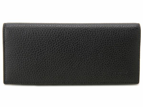 選べる12色 クロミア cromia 長財布 2400026-NER イタリアレザー ブラック×レッド
