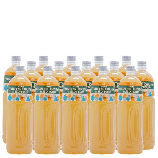 グレープフルーツ業務用濃縮ジュース1L(希釈タイプ)【果汁濃縮グレープフルーツジュース】 1Lペットボトル×15本