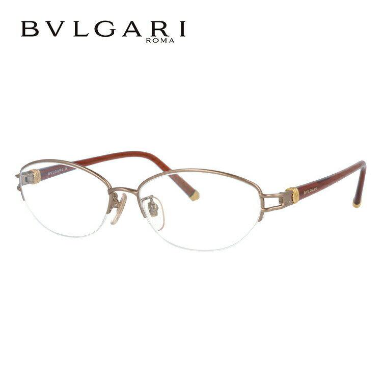 ブルガリ 眼鏡 伊達メガネ対応 国内正規品 BV241TK 444 54 ライトブラウン/ブラウン レディース
