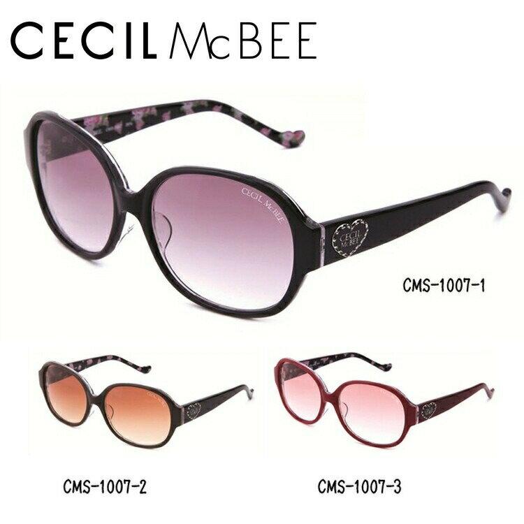 セシルマクビー サングラス CECIL McBEE CMS1007-1/CMS1007-2/CMS1007-3【レディース】 UVカット