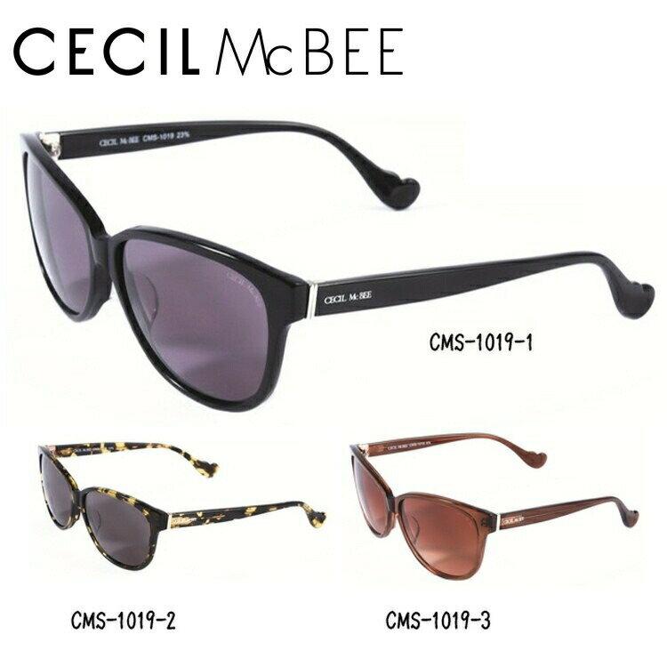 セシルマクビー サングラス CECIL McBEE CMS1019-1/CMS1019-2/CMS1019-3【レディース】 UVカット
