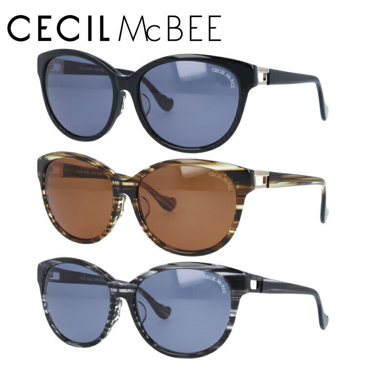 セシルマクビー サングラス CECIL McBEE CMS1022-1/CMS1022-2/CMS1022-3【レディース】 UVカット