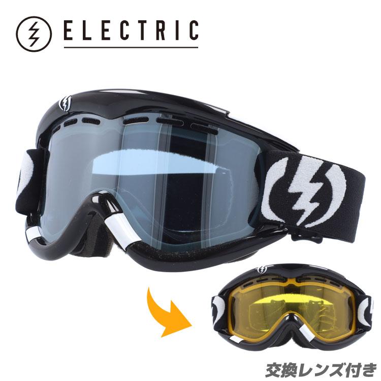 エレクトリック ゴーグル ELECTRIC GOGGLE EG0112100 BLSC EG1 Gloss Black Blue/Silver Chrome スキー スノーボード スノーゴーグル ウィンタースポーツ ボーナスレンズ付き UVカット