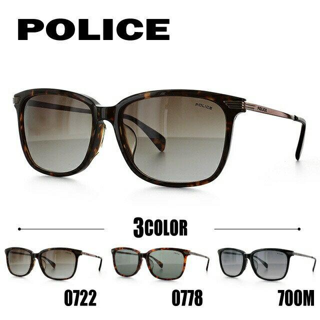 ポリス サングラス 国内正規品 POLICE SPL027J 0722/0778/700M 55 アジアンフィット べっこう【メンズ】UVカット