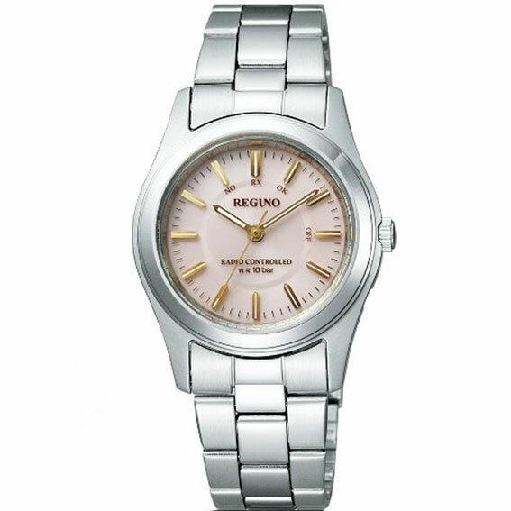 [シチズン]CITIZEN 腕時計 REGUNO レグノ ソーラーテック 電波時計 ペアモデル KL4-010-91 レディース