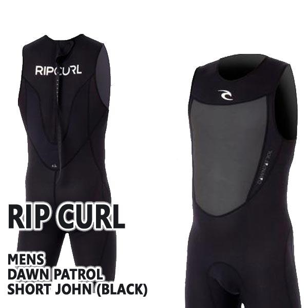 人気館 RIP CURL/リップカール DAWNPATROL ウェットスーツ SHORT JOHN  BACK ZIP ショートジョン BLK送料無料新作_02P01Oct16