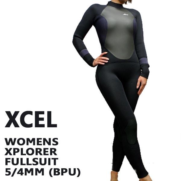 XCEL/エクセル WOMENS XPLORER 5/4MM フルスーツ BPU 【送料無料】女性用 レディース
