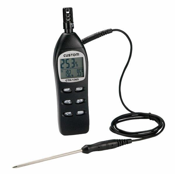 デジタル温湿度計 CTH-1365