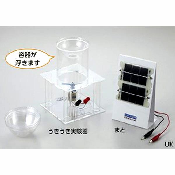 光のまと当て実験器 太陽光の力でカップを浮かそう!!