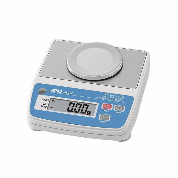 電子てんびん HT-120 コンパクトサイズ 最大秤量120g 136×150×57.5mm