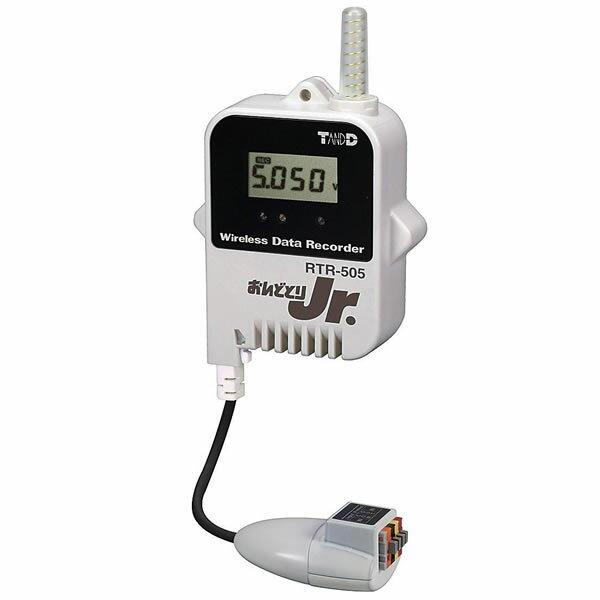電流ロガー RTR-505-mA おんどとり Jr.Wireless データロガー USB Eメール送信 FTP送信 47×19×62mm