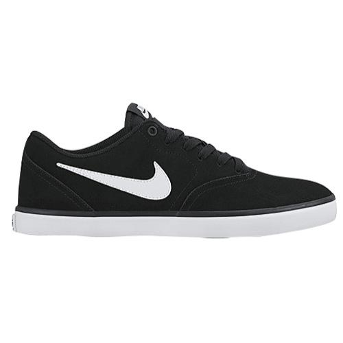 (取寄)Nike ナイキ メンズ エスビー チェック ソーラー スニーカー スケートボード Nike Men's SB Check Solar Black White 【コンビニ受取対応商品】