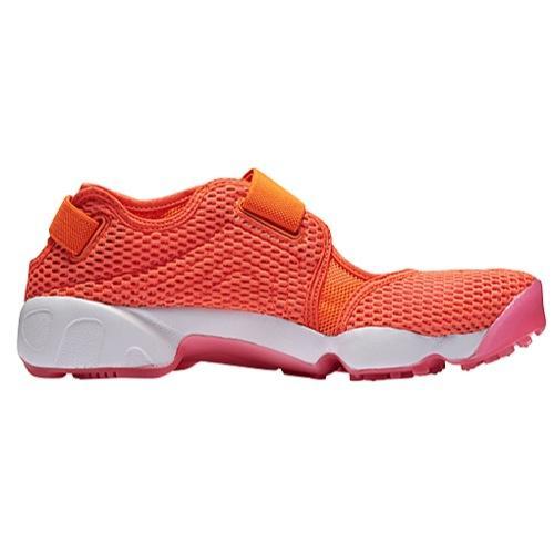 (取寄)Nike ナイキ レディース エア リフト ブリーズ Nike Women's Air Rift BR Total Crimson Pink Blast White 【コンビニ受取対応商品】