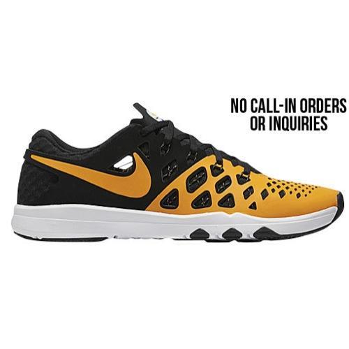 (取寄)Nike ナイキ メンズ トレイン スピード 4 スニーカー トレーニングシューズ Nike Men's Train Speed 4 University Gold Black White 【コンビニ受取対応商品】