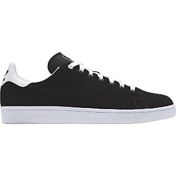 (取寄)アディダス スタン スミス バルカ シューズ Adidas Men's Stan Smith Vulc Shoe Black/Black/White