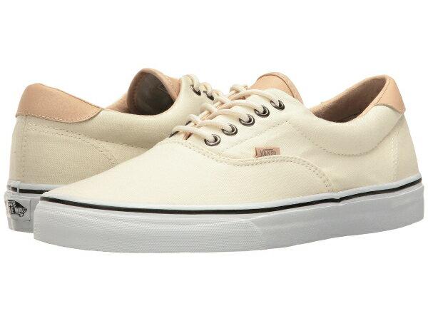 (取寄)Vans(バンズ) スニーカー エラ 59  ユニセックス メンズ レディース Vans Era 59  (Veggie Tan) Classic White/True White