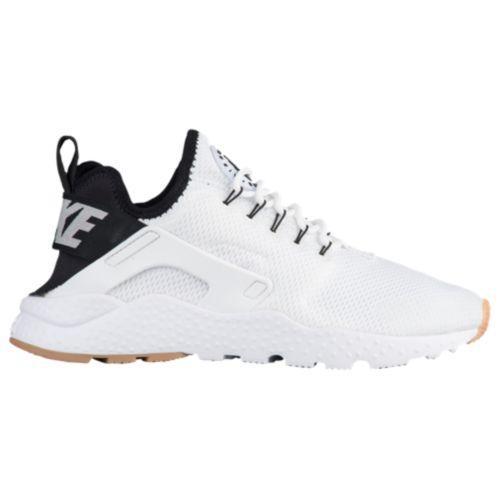 (取寄)Nike ナイキ レディース エア ハラチ ラン ウルトラ Nike Women's Air Huarache Run Ultra White Black Gum Yellow White
