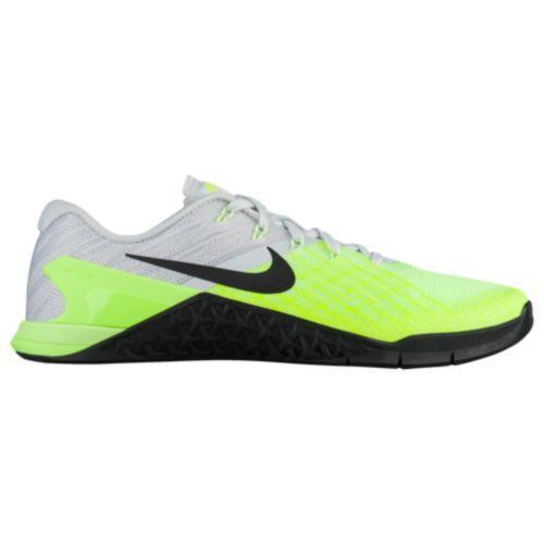 (取寄)ナイキ メンズ メトコン 3 Nike Men's Metcon 3 Pure Platinum Black Volt Ghost Green