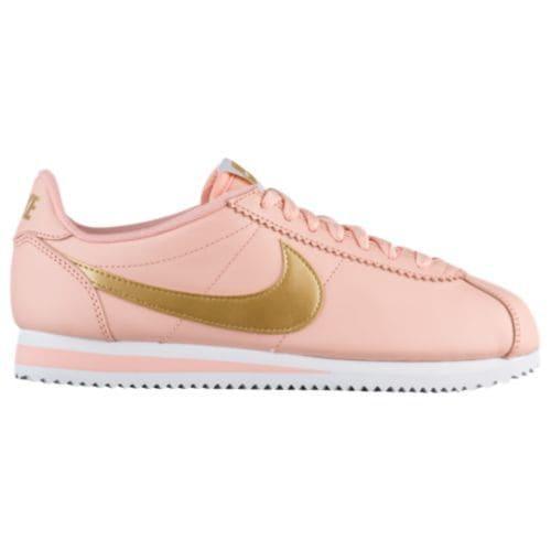 (取寄)Nike ナイキ レディース スニーカー クラシック コルテッツ Nike Women's Classic Cortez Arctic Orange Metallic Gold White
