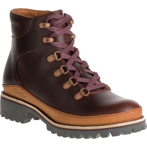(�寄)�ャコ レディース フィールズ ブーツ Chaco Women Fields Boot Rust