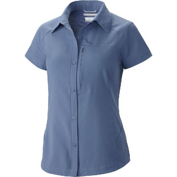 (取寄)コロンビア レディース シルバー リッジ シャツ Columbia Women Silver Ridge Short-Sleeve Shirt Bluebell