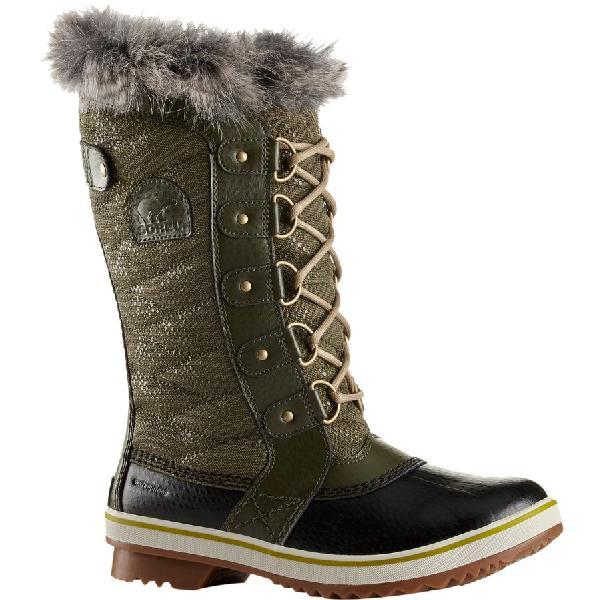 (取寄)ソレル レディース トフィーノ 2 ブーツ Sorel Women Tofino II Boot Peatmoss/Black
