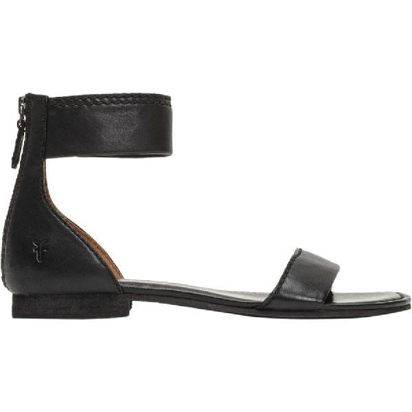 (取寄)フライ レディース カーソン アンクル ジップ サンダル Frye Women Carson Ankle Zip Sandal Black