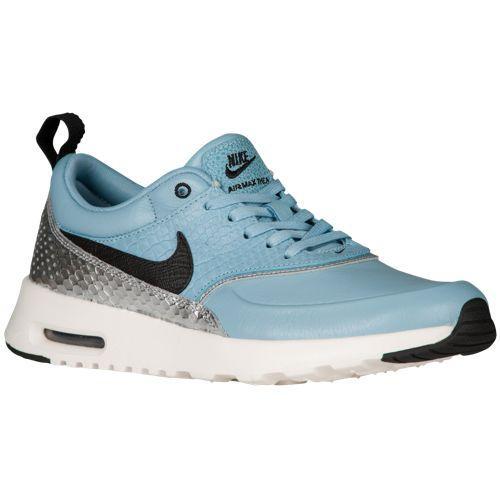 (取寄)Nike ナイキ レディース エア マックス シア Nike Women's Air Max Thea Mica Blue Black Metallic Silver Ivory