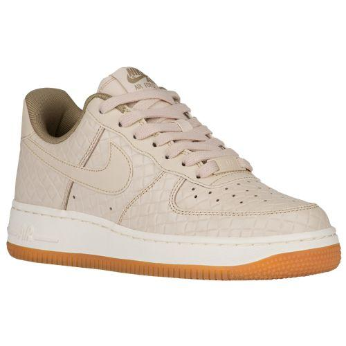 (取寄)Nike ナイキ レディース エア フォース 1 '07 プレミアム スニーカー Nike Women's Air Force 1 '07 Premium Oatmeal Oatmeal Khaki Sail Gum Med Brown