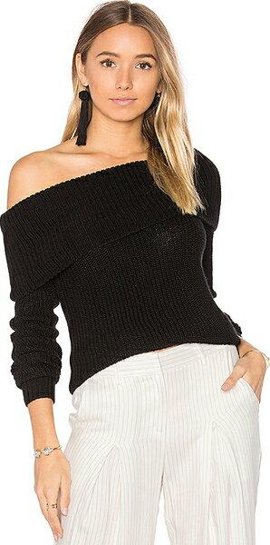 (取寄)ラバーフレンズ レディース ルナ セーター イン ブラック Lovers + Friends women's Luna Sweater in Black