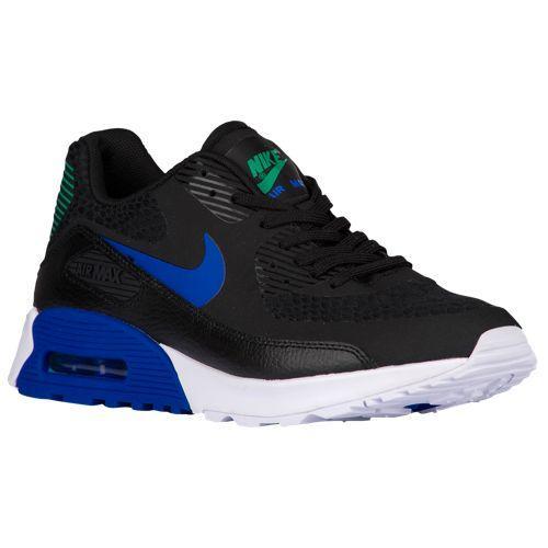 (取寄)Nike ナイキ レディース エア マックス 90 ウルトラ 2.0 Nike Women's Air Max 90 Ultra 2.0 Black Paramount Blue White Stadium Green
