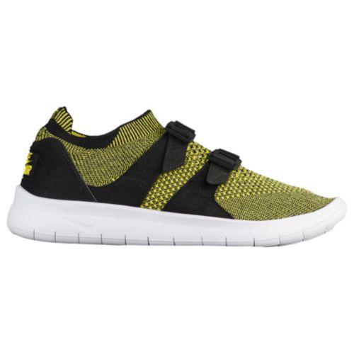(取寄)Nike ナイキ レディース ソック レーサー ウルトラ フライニット Nike Women's Sock Racer Ultra Flyknit Black White Yellow Strike