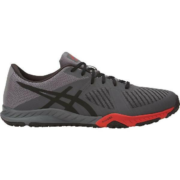 (取寄)アシックス メンズ ウェルドン X シューズ Asics Men's Weldon X Shoe Carbon/Black/Prime Red