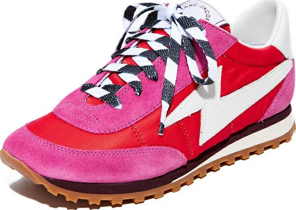 (取寄)Marc Jacobs Women's Astor Sneakers マークジェイコブス レディース アスター スニーカー Red Multi