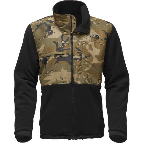 (取寄)ノースフェイス メンズ デナリ 2 フリース ジャケット The North Face Men's Denali 2 Fleece Jacket Recycled Tnf Black/Burnt Olive Green Woodchip Camo Print