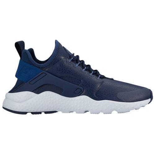 (取寄)Nike ナイキ レディース エア ハラチ ラン ウルトラ Nike Women's Air Huarache Run Ultra Midnight Navy Ocean Fog Blue Tint