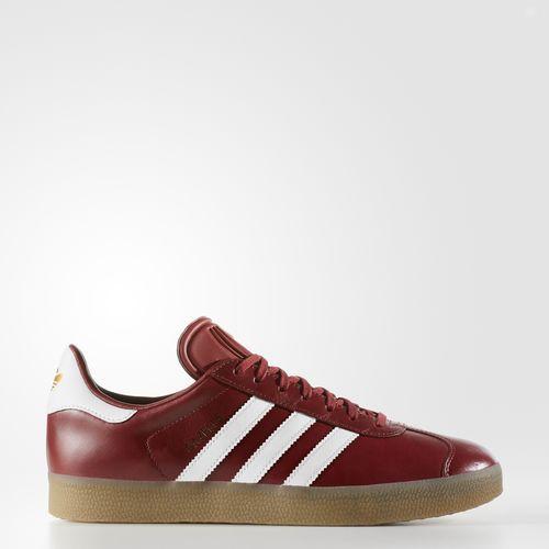 (取寄)アディダス オリジナルス メンズ ガゼル シューズ adidas originals Men's Gazelle Shoes Mystery Red  /  Running White  /  Gold Metallic