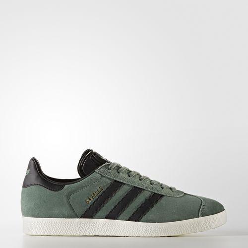 (取寄)アディダス オリジナルス メンズ ガゼル シューズ adidas originals Men's Gazelle Shoes Trace Green  /  Core Black  /  Gold Metallic
