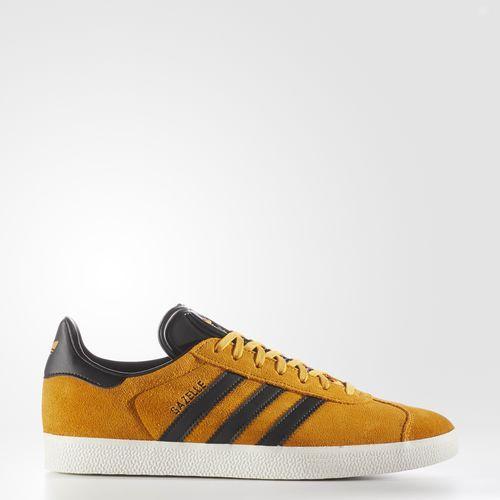 (取寄)アディダス オリジナルス メンズ ガゼル シューズ adidas originals Men's Gazelle Shoes Yellow  /  Core Black  /  Gold Metallic