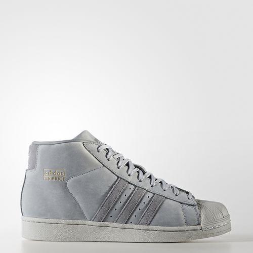 (取寄)アディダス オリジナルス メンズ プロ モデル シューズ adidas originals Men's Pro Model Shoes Mid Grey